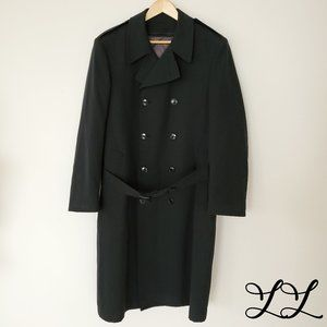 Canadian Military Army Green Coat Overcoat Wool